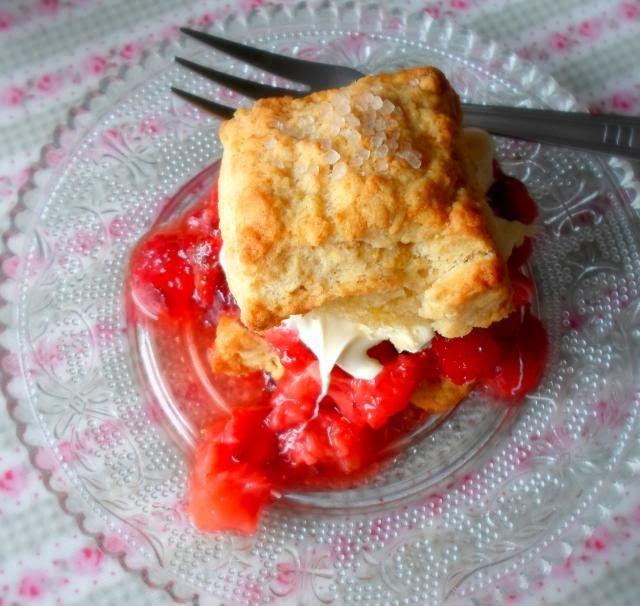 Strawberry Shortcakes - Marie Rayner