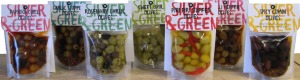 Silver & Green Olive Selection from Farmer's Choice