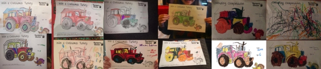 Some entries from the Colouring Competition