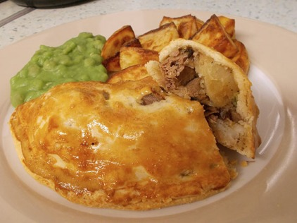 Lamb and Potato Pastie