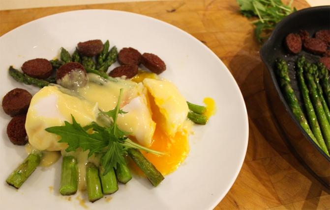 Asparagus with Chorizo Recipe